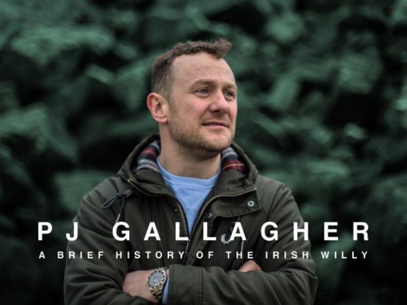 PJ Gallagher Wexford Spiegeltent Festival