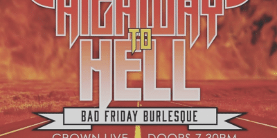 Burlesque, Crown Live, Wexford, Missy Fortune, Highway to Hell